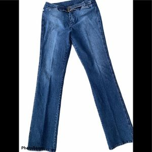 Calvin Klein Jeans w/Attached Belt Size 8